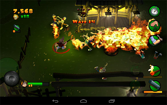 Burn Zombie Burn on Android