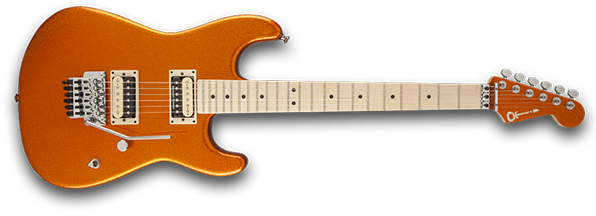 Photo of the Charvel Pro Mod Super Stock SD1-FR from Charvel's website
